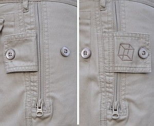 pickpocket proof shorts