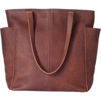 lifetime leather tote