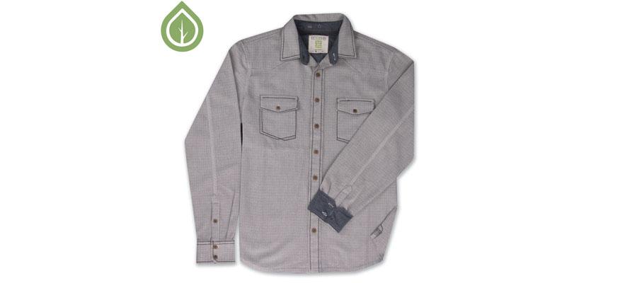 Ecoths Fielding ls shirt