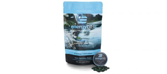 Energy Bits Natural Algae Tablets
