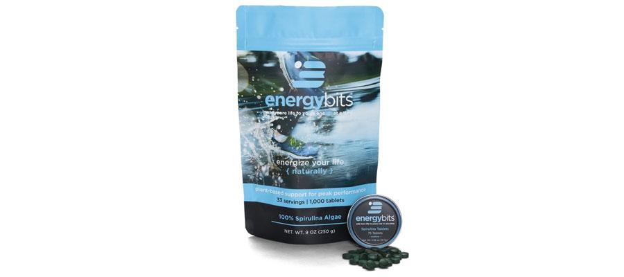 Energy Bits Natural Algae Tablets