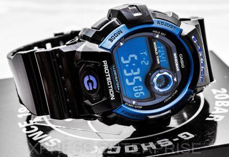 G Shock Blue