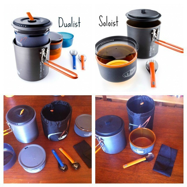 Gsi Outdoors Pinnacle And Halulite Cook Sets