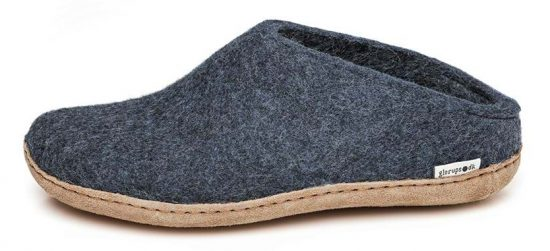 Glerups open heel slippers