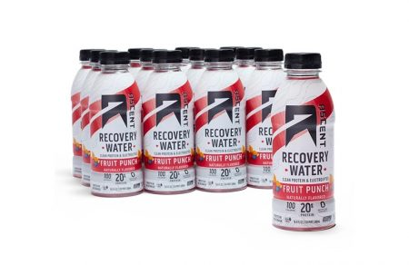 Ascent Recovery Water and Native Fuel Whey Protein Power Blend