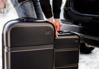 First look at Speck Travel's new hardshell luggage line in black