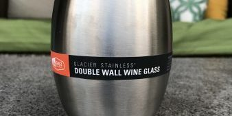 Glacier Stainless Double Wall Wine Glass