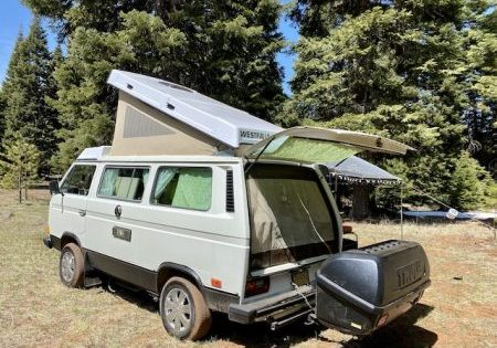 #vanlife camping with Thule