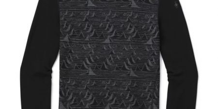 Smartwool 250 Base Layer Pattern Crew Iguchi