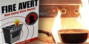 Fire Avert - Auto Stove Shut Off Device