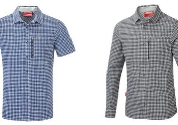 Stretchy, Insect-Repellent NosiLife Berko Shirt From Craghoppers | Practical Travel Gear 1