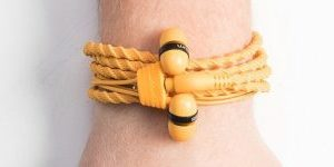 Wraps Wearable Braided Wristband Headphone Earbuds