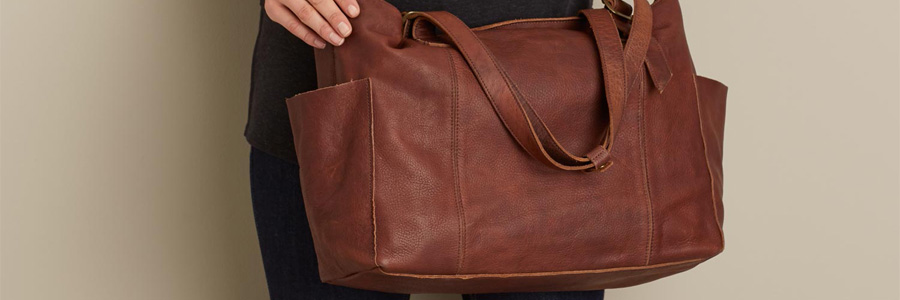 450636a4dca Duluth Trading Company Lifetime Leather Tote