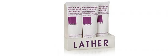 Lather Muscle Ease Travel Trio Pack