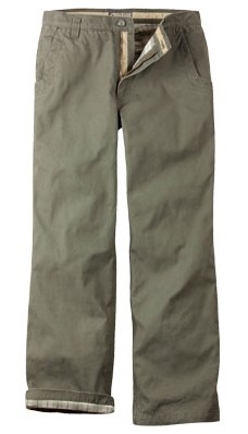 Cozy but Tough: Flannel-lined Pants from Mountain Khakis | Practical Travel Gear 2