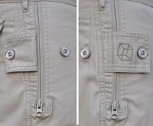 pickpocket proof shorts